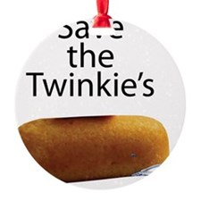 Save The Twinkie's Ornament