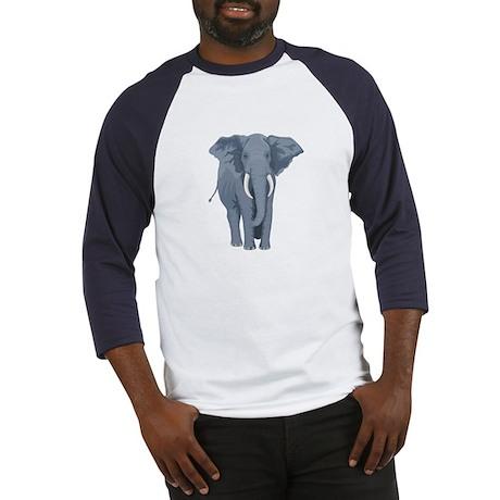 Elephant Back & Front - Baseball Jersey