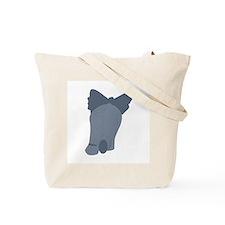 Elephant Back & Front - Tote Bag