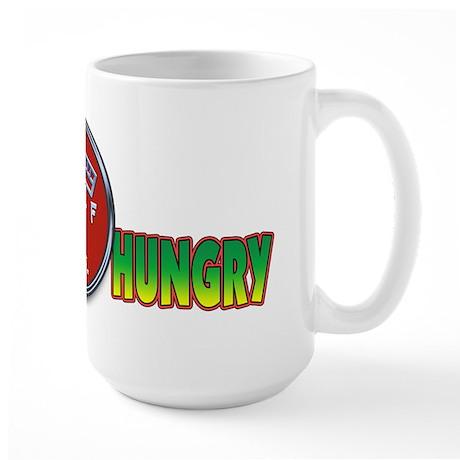 Always Hungry!... Large Mug