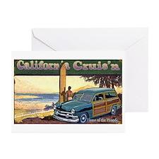 CALIFORNIA CRUIS'N Greeting Cards (Pk of 10)