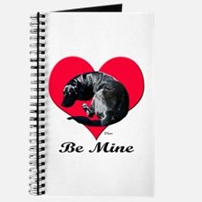 A Black Lab Valentine Journal