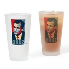 Ted Cruz, Cruz, old colors Drinking Glass