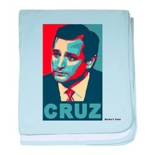 Ted Cruz, Cruz, old colors baby blanket