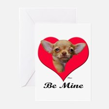 A Baby Chihuahua Valentine Greeting Cards (Package