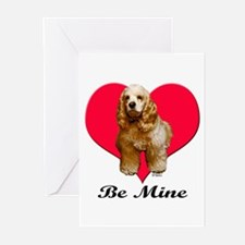 A Cocker Valentine Greeting Cards (Pk of 10)