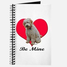 A Golden Doodly Valentine Journal