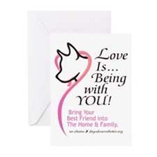Love Is...Being with YOU! Greeting Cards (Package