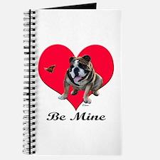 An English Bulldog Valentine Journal