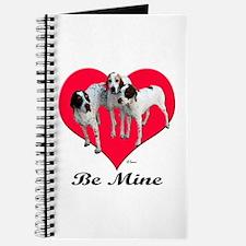 An English Pointer Valentine Journal