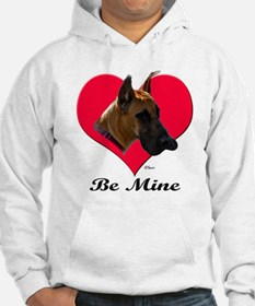 It's A Great Dane Valentine! Hoodie