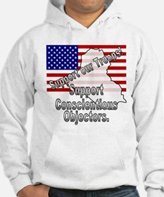 Support Conscientious Objectors! Hoodie