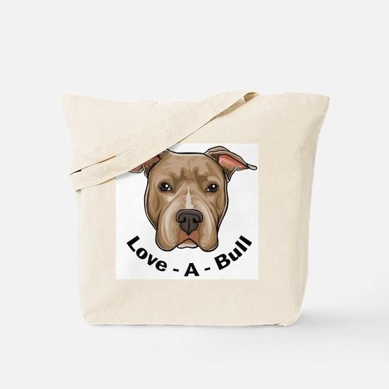 Love-A-Bull 1 Tote Bag