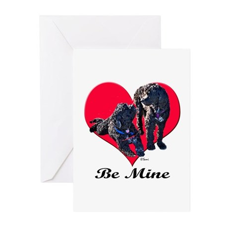 A Poodle Valentine Greeting Cards (Pk of 10)