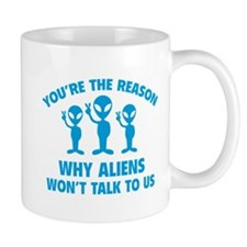 Why Aliens Won't Talk To Us Mug