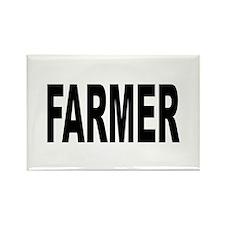 Farmer Rectangle Magnet