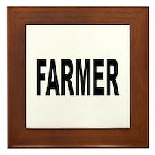 Farmer Framed Tile