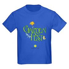 Garden Fest Kids Dark T-Shirt