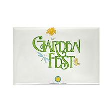 Garden Fest Rectangle Magnet