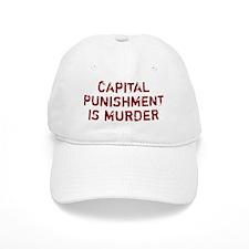 Baseball Capital Punishment Is Murder Baseball Cap