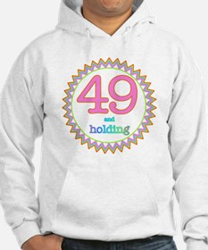 Number 49 and Holding Sherbert Z Hoodie