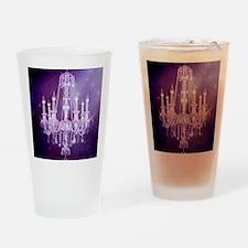 purple chandelier  Drinking Glass