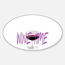 WINE TIME Decal