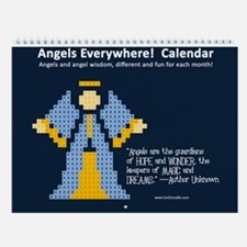 Angels Everywhere! Wall Calendar
