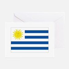 Uruguay's flag Greeting Cards (Pk of 10)