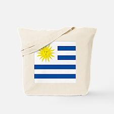 Uruguay's flag Tote Bag