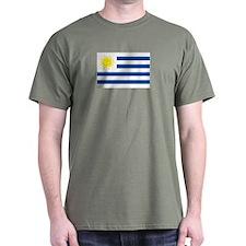 Uruguay's flag T-Shirt