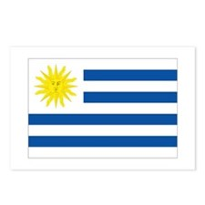 Uruguay's flag Postcards (Package of 8)