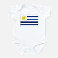 Uruguay's flag Infant Bodysuit