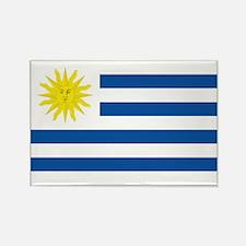 Uruguay's flag Rectangle Magnet