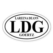 LDG Oval Decal