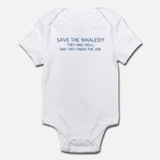 Save The Whales Infant Bodysuit