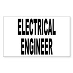 Electrical Engineer Rectangle Sticker