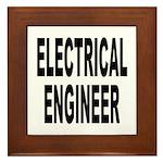 Electrical Engineer Framed Tile