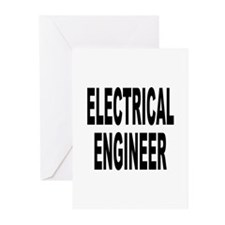 Electrical Engineer Greeting Cards (Pk of 10)