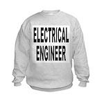 Electrical Engineer (Front) Kids Sweatshirt