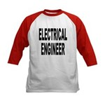 Electrical Engineer (Front) Kids Baseball Jersey