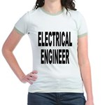 Electrical Engineer (Front) Jr. Ringer T-Shirt