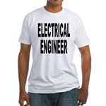 Electrical Engineer (Front) Fitted T-Shirt