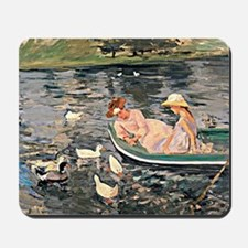 Mary Cassatt - Summertime Mousepad