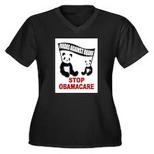 PANDAS Plus Size T-Shirt