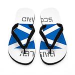 Paisley Scotland Flip Flops