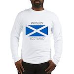 Paisley Scotland Long Sleeve T-Shirt