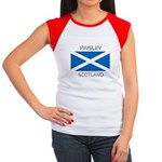 Paisley Scotland Women's Cap Sleeve T-Shirt