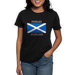 Paisley Scotland Women's Dark T-Shirt