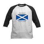 Paisley Scotland Kids Baseball Jersey